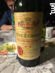 Clos Trimoulet - Clos Trimoulet - Famille Appollot - 1975 - Rouge