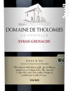 Syrah, Grenache - Domaine de Tholomies - 2015 - Rouge