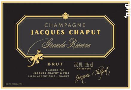 Grande Réserve La Salamandre - Champagne Jacques Chaput - Non millésimé - Effervescent