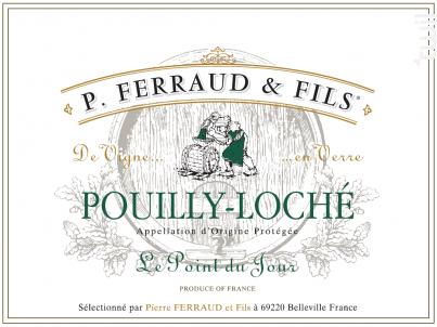 Le Point du Jour - P. Ferraud & Fils - 2017 - Blanc