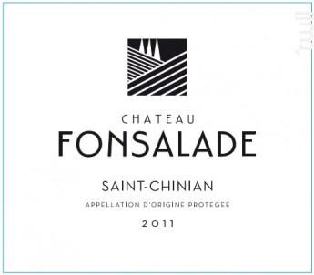 Chateau Fonsalade - Château Fonsalade - 2016 - Rouge