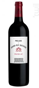 Prélude à Grand-Puy Ducasse - Château Grand-Puy Ducasse - 2015 - Rouge