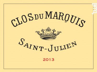Clos du Marquis - Château Léoville Las Cases - 2013 - Rouge