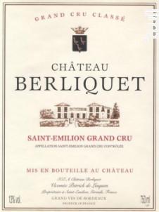 Château Berliquet - Château Berliquet - 2012 - Rouge