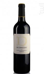 D DE DAUZAC - Château Dauzac - 5e Cru Classé - 2016 - Rouge