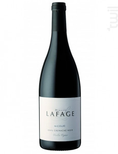 Nicolas - Domaine Lafage - 2019 - Rouge