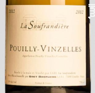 POUILLY VINZELLES - Bret Brothers- La Soufrandière - 2013 - Blanc