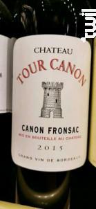 Château Tour Canon - Chateau Tour Canon - 2015 - Rouge
