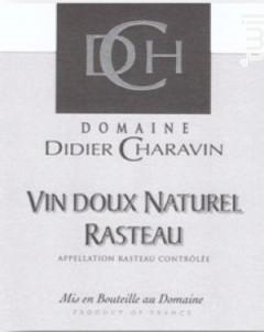Rasteau Vin Doux Naturel - Domaine Didier Charavin - 2019 - Rosé