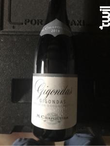 Gigondas - Maison M. Chapoutier - 2018 - Rouge