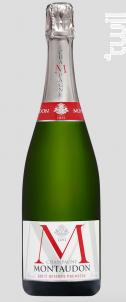 Montaudon- Brut Réserve Première - Champagne Jacquart - Non millésimé - Effervescent