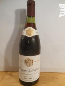 Cuvee Particuliere - Domaine René Fabry - 1982 - Rouge