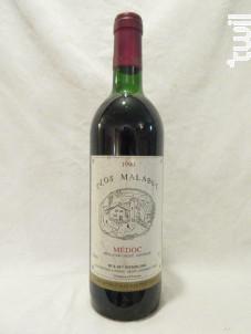 Clos Malabut - Clos Malabut - 1990 - Rouge