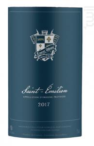Saint Emilion - Castel Albion - 2017 - Rouge