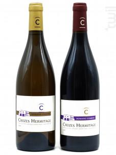 Coffret Domaine Combier - Crozes Hermitage - Domaine Laurent Combier - Non millésimé - Rouge