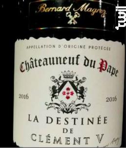 La Destinée de Clément V - Bernard Magrez - 2016 - Rouge