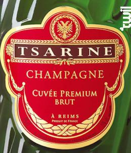 Champagne Cuvée Premium Brut - Champagne Tsarine - Non millésimé - Effervescent