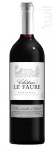 Château Le Faure - Maison Montagnac - 2017 - Rouge