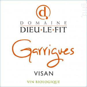 Garrigues Rémi Pouizin - Domaine Dieu-Le-Fit - Rémi Pouizin - 2015 - Rouge