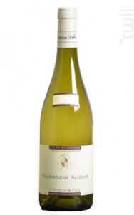 Bourgogne Aligoté - Domaine R. Dubois et Fils - 2014 - Blanc