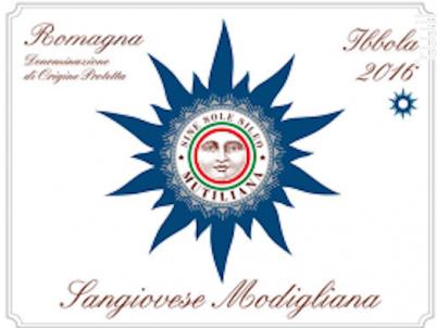 Romagna sangiovese ibola - Mutiliana - 2016 - Rouge