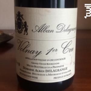 Volnay 1er cru - Domaine Bernard Delagrange et Fils - 1995 - Rouge