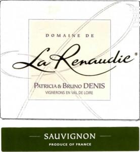 La Renaudie Sauvignon - Domaine De La Renaudie - 2016 - Blanc
