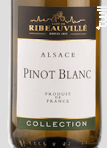 Pinot Blanc Collection - Cave de Ribeauvillé - 2016 - Blanc