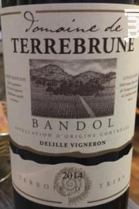 Domaine de Terrebrune - Bandol - Domaine de Terrebrune Bandol - 2014 - Rouge