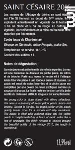 Saint-Césaire - Abbaye de Lérins - 2016 - Blanc