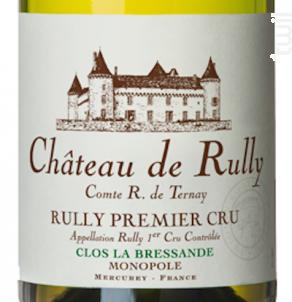 Rully Château de Rully Premier Cru La Bressande Monopole - Antonin Rodet - 2017 - Blanc