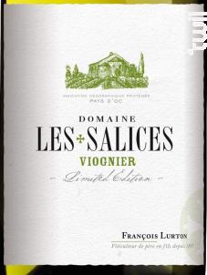 Domaine Les Salices Viognier - François Lurton - Domaine Les Salices - 2016 - Blanc