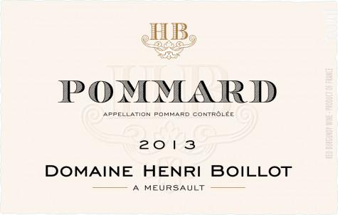 Pommard - Maison Henri Boillot - 2013 - Rouge