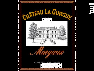 Château la Gurgue - Château La Gurgue - 2016 - Rouge