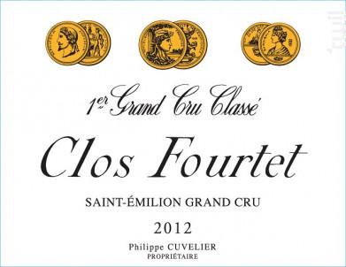 Clos Fourtet - Clos Fourtet - 2012 - Rouge
