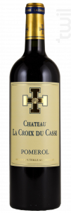 Château la Croix du Casse - Borie Manoux- Château la Croix du Casse - 2014 - Rouge