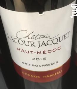 Château Lacour Jacquet Cru Bourgeois - Château Lacour Jacquet - 2018 - Rouge