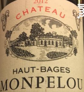 Château Haut-Bages Monpelou - Château Haut-Bages Monpelou - 2012 - Rouge