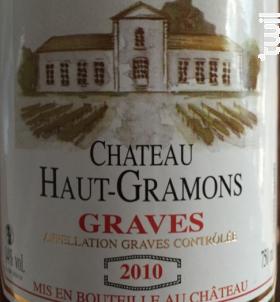 Château Haut Gramons - Château Haut - Gramons - 2000 - Rouge