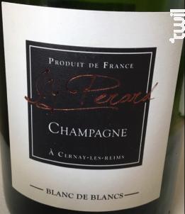 Blanc de Blancs - Champagne J.Y. Perard - Non millésimé - Effervescent