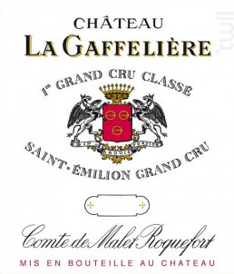 Château La Gaffelière - Château La Gaffelière - 2015 - Rouge