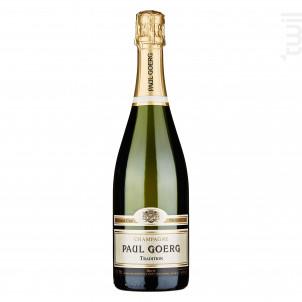 Brut Tradition - Premier Cru - Champagne Paul Goerg - Non millésimé - Effervescent