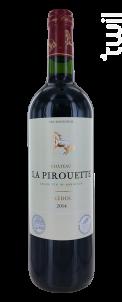 Château La Pirouette - Château La Pirouette - 2014 - Rouge