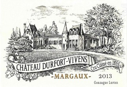 Château Durfort-Vivens - Château Durfort-Vivens - 2013 - Rouge