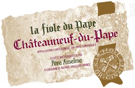 La Fiole du Pape - Maison Brotte - La Fiole - Non millésimé - Rouge