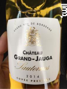 Château Grand-Jauga - Château Grand-Jauga - 2013 - Blanc