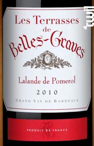 Les Terrasses de Belles Graves - Château Belles-Graves - 2014 - Rouge