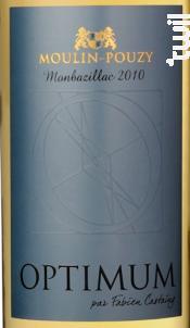 Optimum - Domaine de Moulin-Pouzy - Vignobles Fabien Castaing - 2012 - Blanc