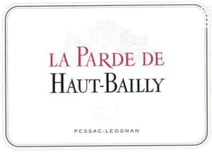 La Parde Haut-Bailly - Château Haut-Bailly - 2017 - Rouge