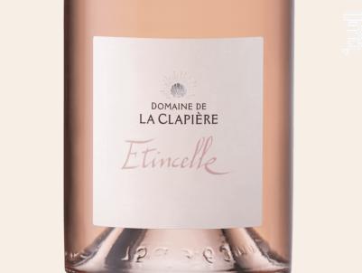 Etincelle - DOMAINE DE LA CLAPIERE - 2018 - Rosé